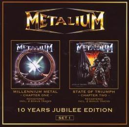 MILLENIUM METAL.. -LTD- & STATE OF TRIUMPH//REMASTERED WITH BONUS MATERIAL Audio CD, METALIUM, CD
