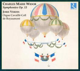 SYMPHONIES OP 13 WIDOR, CHARLES-MARIE Audio CD, JORIS VERDIN, CD