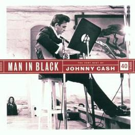 MAN IN BLACK-VERY BEST OF INCL. LIVE TRACKS & SPECIAL GUEST APPEARANCES Audio CD, JOHNNY CASH, CD