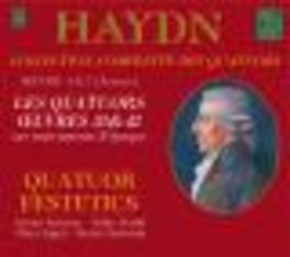 COMPLETE QUATUORS OEUVRE QUATUOR FESTETICS Audio CD, J. HAYDN, CD