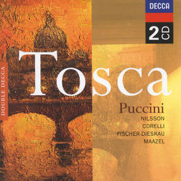TOSCA W/BIRGIT NILSSON, FRANCO CORELLI, LORIN MAAZEL, DIETRIC Audio CD, G. PUCCINI, CD