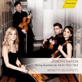 STRING QUARTETS.. MINETTI QUARTETT Audio CD, J. HAYDN, CD