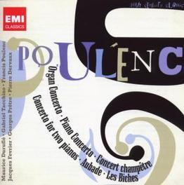 CONCERTOS, AUBADE, LES.. .. BICHES//DURUFLE/GEORGES PRETRE/TACCHINO/AMBROSIAN S Audio CD, F. POULENC, CD