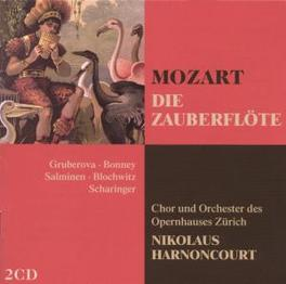 DIE ZAUBERFLOTE ORCHESTRA OPERNHAUS ZURICH/NIKOLAUS HARNONCOURT Audio CD, W.A. MOZART, CD