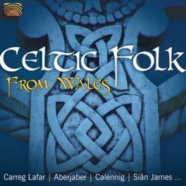 CELTIC FOLK FROM WALES W/CARREG LAFAR/ABERJABER/CALENNIG/SIAN JAMES/A.O. Audio CD, V/A, CD