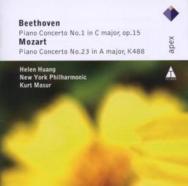 PIANO CONCERTOS WORKS BY MOZART/BEETHOVEN Audio CD, HELEN HUANG, CD