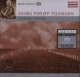 OUVERTURES CAPPELLA COLONIENSIS/HANS-MARTIN LINDE G.P. TELEMANN, CD
