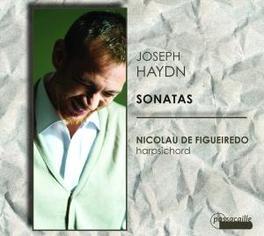 SONATAS NICOLAU DE FIGUEIREDO Audio CD, J. HAYDN, CD