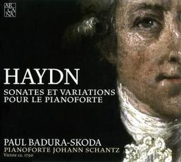 PIANO SONATAS & VARIATION PAUL-BADURA SKODA Audio CD, J. HAYDN, CD