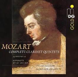 CLARINET QUINTETS KV581 LEOPOLDER QUARTETT/DIETER KLOCKER Audio CD, W.A. MOZART, CD