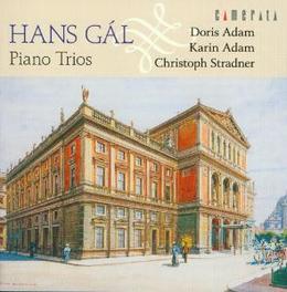 PIANO TRIOS ADAM/ADAM/STRADNER Audio CD, GAL, CD
