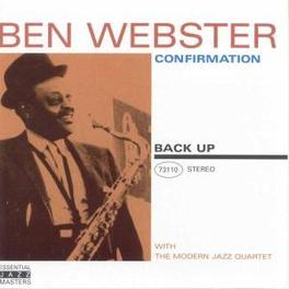 CONFIRMATION AND THE MODERN JAZZ QUARTET Audio CD, BEN WEBSTER, CD