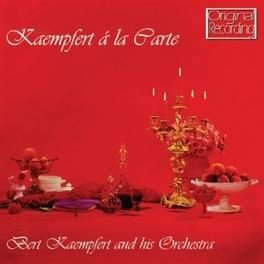 KAEMPFERT A LA CARTE BERT KAEMPFERT, CD