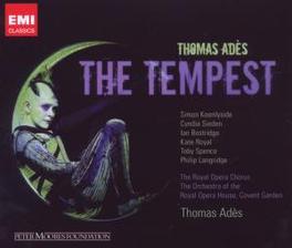 TEMPEST ROYAL OPERA CHORUS/ORCHESTRA OF THE ROYAL OPERA HOUSE Audio CD, THOMAS ADES, CD