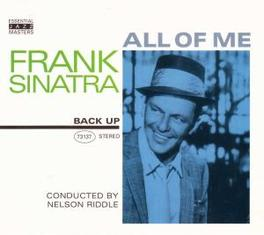 ALL OF ME CONDUCTED BY NELSON RIDDLE Audio CD, FRANK SINATRA, CD
