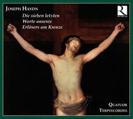 SIEVEN LETZTEN WORTE ERLO QUATUOR TERPSYCORDES Audio CD, J. HAYDN, CD