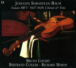 SONATES BWV1027-1029 LES BASSES REUNIES/BRUNO COCSET Audio CD, J.S. BACH, CD
