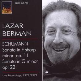 PLAYS ROBERT SCHUMANN LIVE RECORDINGS MILANO 1971,1972 Audio CD, LAZAR BERMAN, CD
