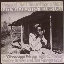 LIVING COUNTRY BLUES 9 MISSISSIPPI MOAN VOL.9 Audio CD, V/A, CD