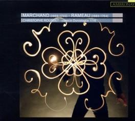 PIECES POUR CLAVECIN CHRISTOPHE ROUSSET MARCHAND/RAMEAU, CD