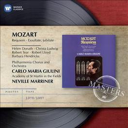 REQUIEM CARLO MARIA GIULINI W.A. MOZART, CD