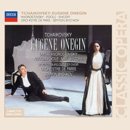 EVGENY ONEGIN ORCHESTRE DE PARIS/SEMYON BYCHKOV Audio CD, P.I. TCHAIKOVSKY, CD