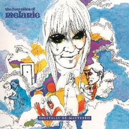 FOUR SIDES OF MELANIE 1970'S DOUBLE LP, RE-ISSUED Audio CD, MELANIE, CD