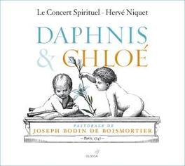 DAPHNIS AND CHLOE LE CONCERT SPIRITUEL//NIQUET, H. Audio CD, J.B. BOISMORTIER, CD