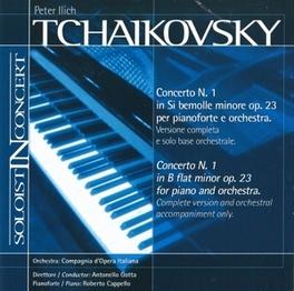 CONCERTO NO.1 P.I. TCHAIKOVSKY, CD