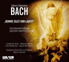 KOMMT EILET UND LAUFET STUTTGARTER BACH-CHOR & ORCHESTRA (EASTER) Audio CD, J.S. BACH, CD