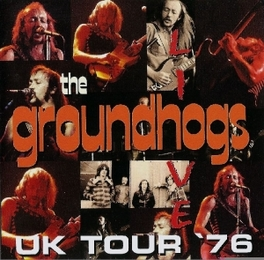 LIVE UK TOUR 1976 Audio CD, GROUNDHOGS, CD