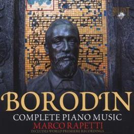 COMPLETE PIANO MUSIC Audio CD, A. BORODIN, CD