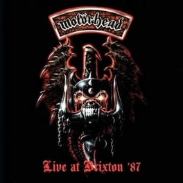 LIVE AT BRIXTON '87 Audio CD, MOTORHEAD, CD
