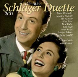 SCHLAGER -DUETTE DER 50ER V/A, CD