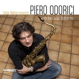 PIERO ODORICI CEDAR WALTON PRESENTS PIERO ODORICI, CD