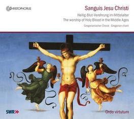 SANGUIS JESU CHRISTI ORDO VIRTUTUM/MORENT Audio CD, GREGORIAN CHANT, CD