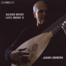 LUTE MUSIC II JAKOB LINDBERG Audio CD, S.L. WEISS, CD