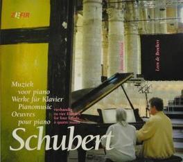 MUSIC FOR PIANO W/JANINE DACOSTA & LEEN DE BROEKERT Audio CD, F. SCHUBERT, CD