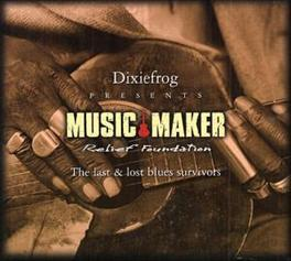 MUSIC MAKER LAST & LOST BLUES SURVIVORS Audio CD, V/A, CD