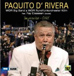 IMPROVISE ONE LIVE PAQUITO D'RIVERA, CD