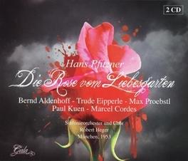 DIE ROSE VOM LIEBESGARTEN RSO STUTTGART/S.O.HESSISCHEN RUNDFUNKS/SINFONIEORCHESTR Audio CD, H. PFITZNER, CD