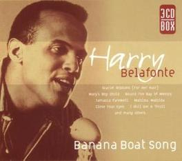 BANANA BOAT SONG INCL.SCARLET RIBBONS/MARY'S BOY CHILD/CLOSE YOUR EYES Audio CD, HARRY BELAFONTE, CD