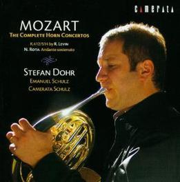 COMPLETE HORN CONCERTOS CAMERATA SCHULZ/SCHULZ Audio CD, W.A. MOZART, CD