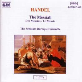 MESSIAH SCHOLARS OF LONDON G.F. HANDEL, CD