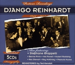 POSTWAR RECORDINGS.. .. 1944-53 Audio CD, DJANGO REINHARDT, CD