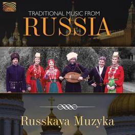 TRADITIONAL MUSIC FROM.. .. RUSSIA Audio CD, RUSSKAYA MUZYKA, CD