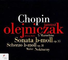 SONATA OP.35/SCHERZO OP.3 JANUSZ OLEJNICZAK Audio CD, F. CHOPIN, CD