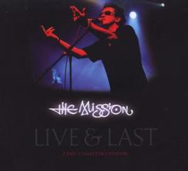 LIVE & LAST RECORDED 2008 Audio CD, MISSION, CD