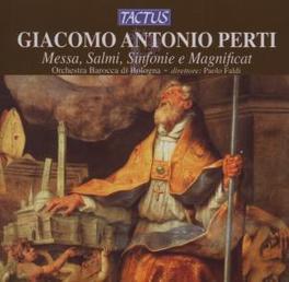 MESSA/SALMI ORCH.BAROCCA DI BOLOGNA/PAOLO FALDI Audio CD, G.A. PERTI, CD