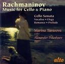 MUSIC FOR CELLO & PIANO...